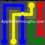 Flow Free Bridges Classic 5x5 Level 12
