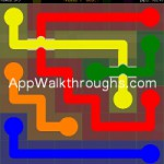 Flow Free Bridges Classic 6x6 Level 1