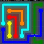 Flow Free Bridges Level 15