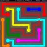 Flow Free Bridges 9x9 Level 14