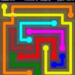 Flow Free Bridges 9x9 Level 20