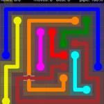 Flow Free Bridges 9x9 Level 26