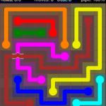 Flow Free Bridges 9x9 Level 39