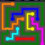 Flow Free Bridges 9x9 Level 40