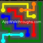 Flow Free Bridges Classic 7x7 Level 23