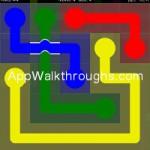 Flow Free Bridges Classic 5x5 Level 28
