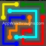Flow Free Bridges Mania 7x7 Level 57
