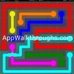 Flow Free Bridges Classic 9x9 Level 25