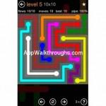 Flow Free Jumbo 10x10 Level 5