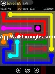 Flow Free Answers Flow Free 8x8 Mania 98 Flow Free Answers