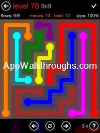 Flow Free Answers Flow Free 9x9 Mania 18 Flow Free Answers