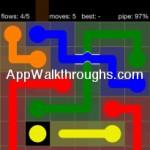 Flow Free Bridges Starter 6x6 Level 1