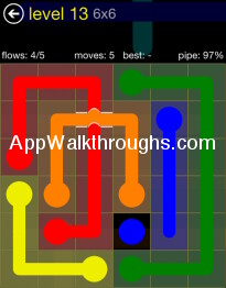 Flow Free Answers Flow Free Bridges 6x6 13 Flow Free