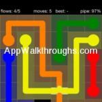 Flow Free Bridges Starter 6x6 Level 14