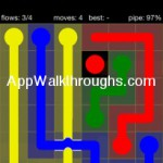 Flow Free Bridges Starter 6x6 Level 16