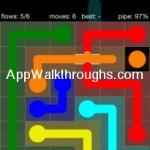 Flow Free Bridges Starter 6x6 Level 19