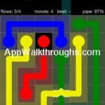 Flow Free Bridges Starter 6x6 Level 22