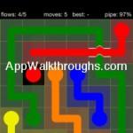 Flow Free Bridges Starter 6x6 Level 26