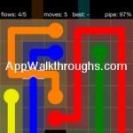 Flow Free Bridges Starter 6x6 Level 27