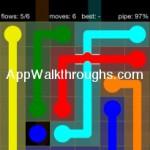 Flow Free Bridges Starter 6x6 Level 29