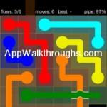 Flow Free Bridges Starter 6x6 Level 32