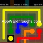 Flow Free Bridges Starter 6x6 Level 37