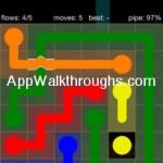 Flow Free Bridges Starter 6x6 Level 4