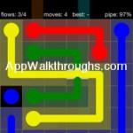 Flow Free Bridges Starter 6x6 Level 41