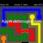 Flow Free Bridges Starter 6x6 Level 42