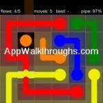 Flow Free Bridges Starter 6x6 Level 43