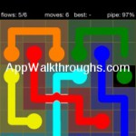 Flow Free Bridges Starter 6x6 Level 44