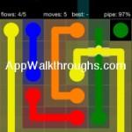Flow Free Bridges Starter 6x6 Level 45