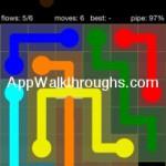 Flow Free Bridges Starter 6x6 Level 47