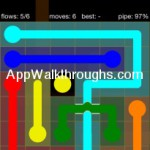 Flow Free Bridges Starter 6x6 Level 48