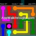 Flow Free Bridges Starter 6x6 Level 49