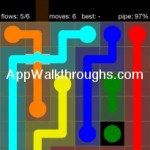 Flow Free Bridges Starter 6x6 Level 55