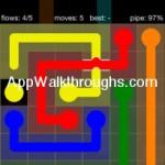 Flow Free Bridges Starter 6x6 Level 57