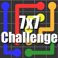 Flow Free Bridges Answers Challenge Level 7×7
