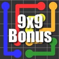 Flow Free Bridges Answers Bonus Level 9×9