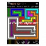Flow Free Jumbo 11x11 Level 12