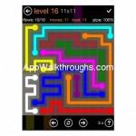 Flow Free Jumbo 11x11 Level 16