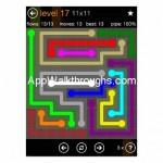 Flow Free Jumbo 11x11 Level 17