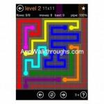 Flow Free Jumbo 11x11 Level 2