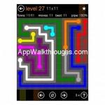 Flow Free Jumbo 11x11 Level 27