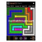 Flow Free Jumbo 11x11 Level 5