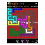 Flow Free Jumbo 12x12 Level 4