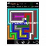 Flow Free Jumbo 13x13 Level 27